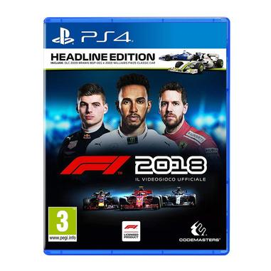 F1 2018 - Headline edition, Playstation 4
