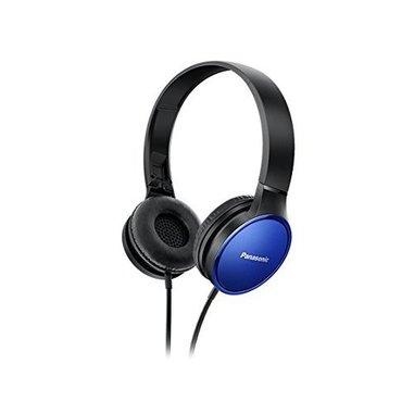 Panasonic RP-HF300E-A Padiglione auricolare Stereofonico Cablato Nero, Blu auricolare per telefono cellulare
