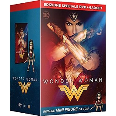 Wonder Woman con Figurine (DVD)