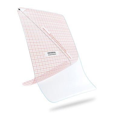 """Cellularline Ok Display - Tablet Fino a 8.2"""" Pellicola protettiva per tablet con tecnologia anti-bolle Trasparente"""