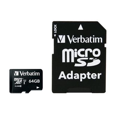 Verbatim Premium 64GB MicroSDXC Classe 10 memoria flash