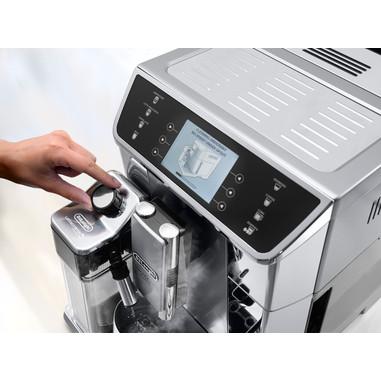 DeLonghi PrimaDonna Elite ECAM 650.55.MS Libera installazione Automatica Macchina per espresso 2L Nero, Acciaio inossidabile