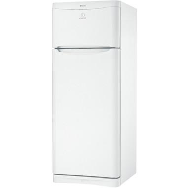 Indesit TIAA 10 V Libera installazione 251L A+ Acciaio inossidabile frigorifero con congelatore