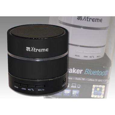 Xtreme speaker bluetooth con microfono nero