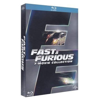 Fast and furious - collection 7 film (Blu-ray)