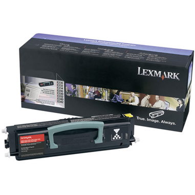 Lexmark E232, E33X, E34X Toner Cartridge Original Nero