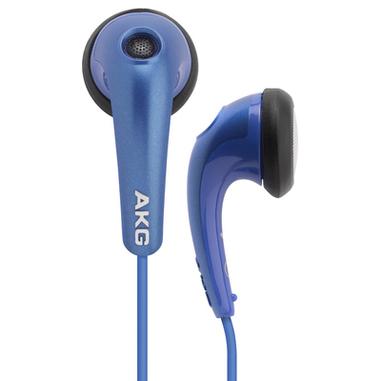 AKG Y15BLU Blu Intraurale Auricolare cuffia