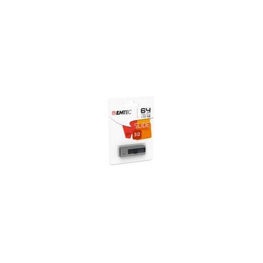 Emtec B250 Slide unità flash USB 64 GB USB tipo A 3.2 Gen 1 (3.1 Gen 1) Grigio