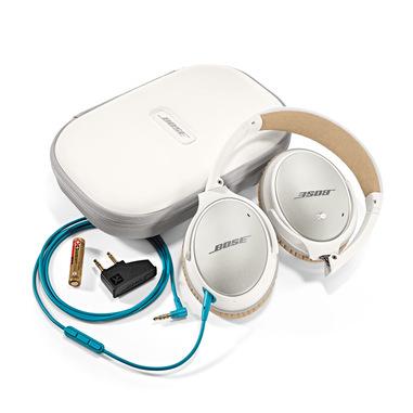 Bose® cuffie QuietComfort® 25 Acoustic Noise Cancelling® per dispositivi Apple® light