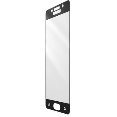 Cellularline Second Glass Capsule - Galaxy A5 (2016) Vetro temperato resistente con cornice Trasparente Nero