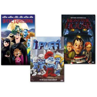 Hotel Transylvania - I Puffi - Monster house (DVD)