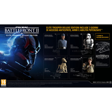 Star Wars Battlefront II: Elite Trooper Deluxe Edition, Xbox One Deluxe Xbox One Italiano videogioco