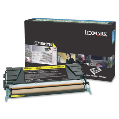 Lexmark C746A1YG cartuccia toner Original Giallo 1 pezzo(i)