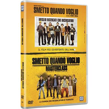 Smetto Quando Voglio / Smetto Quando Voglio - Masterclass (2 DVD)