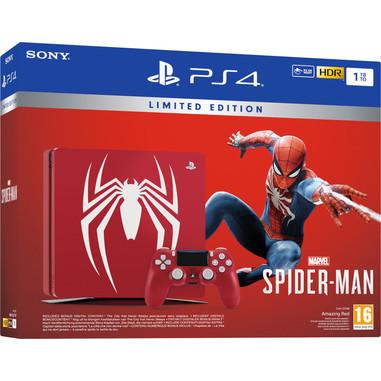 Sony Playstation 4 1TB edizione limitata + Marvel's Spider-Man