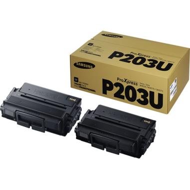 Samsung MLT-P203U 2-pack Ultra High Yield Black Toner Cartridges