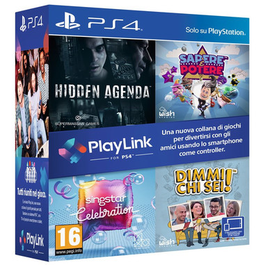 Cofanetto 4 giochi PlayLink - Playstation 4