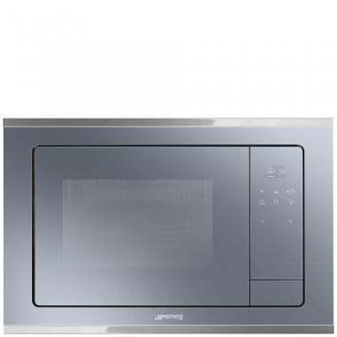 Smeg FMI420S forno a microonde Incorporato Microonde con grill 20 L 800 W Argento