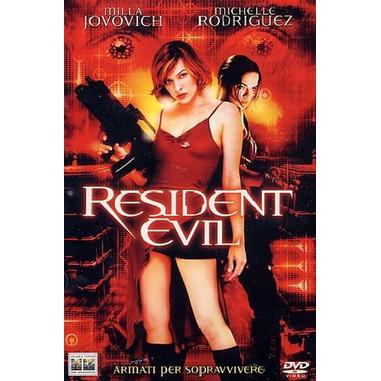 Resident Evil, film (DVD)