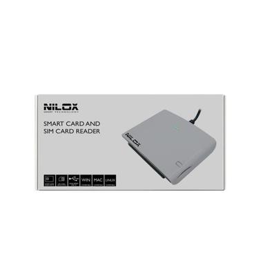 Nilox 10NXCR12SM003 Interno USB 2.0 Bianco lettore di card readers