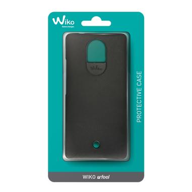 Wiko WI-COVUFEEL-BLK custodia per cellulare Cover Nero