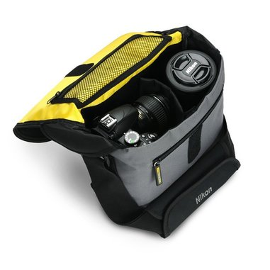 Nikon CF-EU05 Borsa da spalla Nero, Grigio