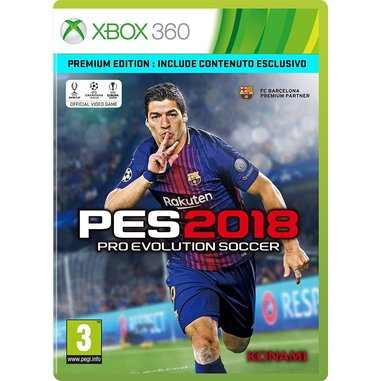 Pro Evolution Soccer 2018, Xbox 360