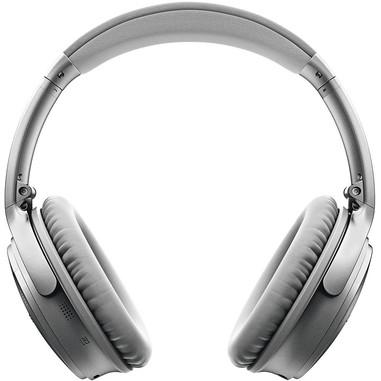 Bose® QuietComfort® 35 cuffie wireless, argento