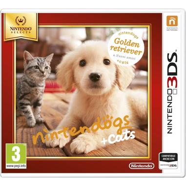 Nintendo Nintendogs + Cats: Golden Retriever