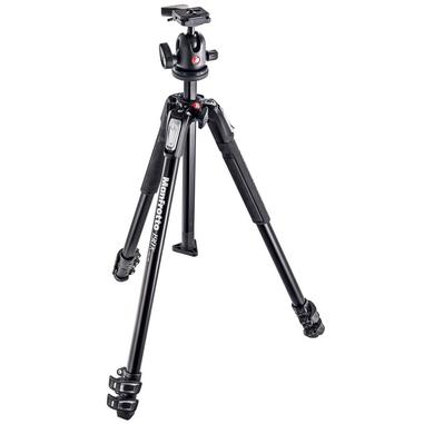 Manfrotto MK190X3-BH Fotocamere digitali/film 3gamba/gambe Nero treppiede