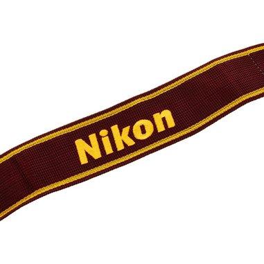 Nikon AN-6W Fotocamera Nylon Rosso, Giallo tracolla