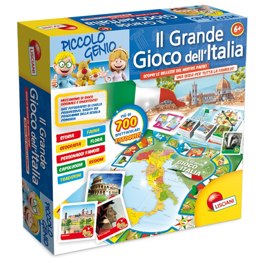 Lisiani Piccolo Genio: il grande gioco dell'Italia