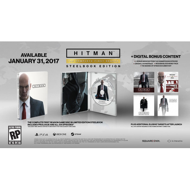 Hitman Steelbook Edition, PS4