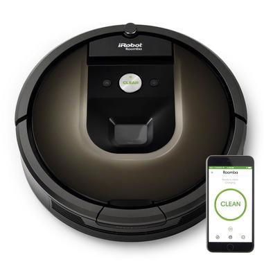 iRobot Roomba 980 senza sacchetto, aspirapolvere robot
