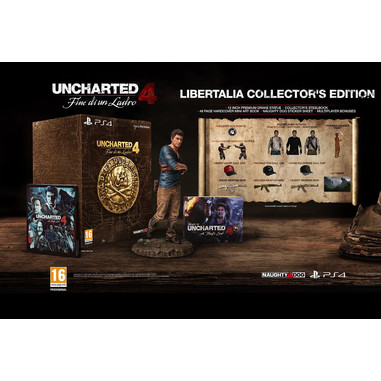Uncharted 4: fine di un ladro - Libertalia collector's edition - PS4