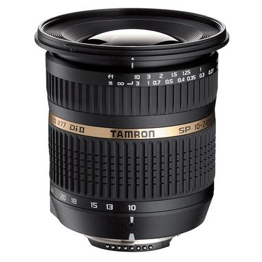 Tamron SP AF10-24mm F/3.5-4.5 Di-II SLR Obiettivo ultra-ampio Nero