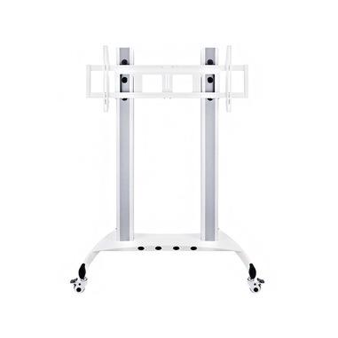 """Hagor Public Floorstand HD 2,29 m (90"""") Banco a rotelle per monitor portatili a schermo piatto Bianco"""
