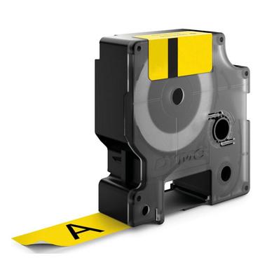 DYMO D1 Standard 9mm x 7m D1 nastro per etichettatrice nero e giallo