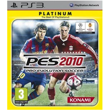 Halifax Pro Evolution Soccer 2010, PS3