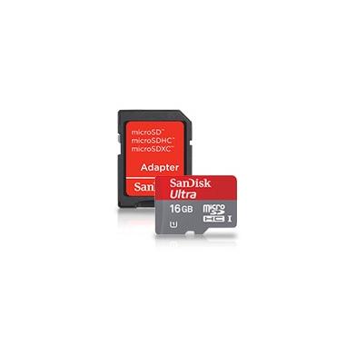 Sandisk 16GB microSDHC UHS-I 16GB MicroSDHC Classe 10 memoria flash