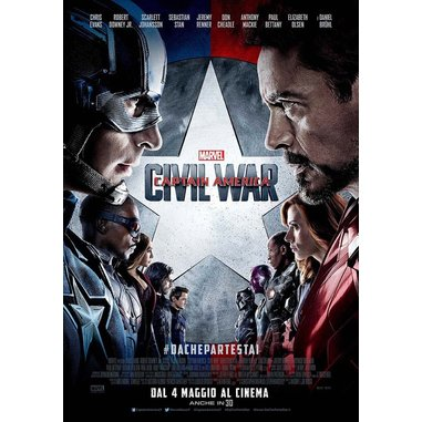Captain America civil war 3D (Blu-ray)