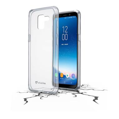 Cellularline Clear Duo - Galaxy A8 (2018) Accoppiata ad alta protezione Trasparente