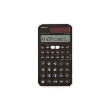 Sharp EL-510RNB Tasca Calcolatrice scientifica Nero calcolatrice