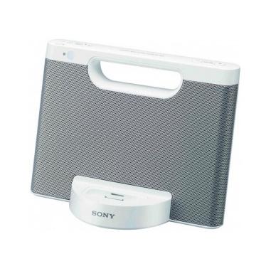 Sony RDPM7IPW 2.0canali 4W Bianco docking station con altoparlanti