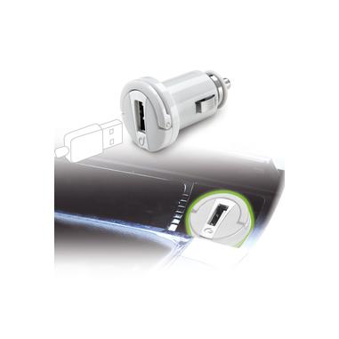 Cellularline USB Car Micro Charger - Fast Charge Universale Micro caricabatterie da auto con carica veloce Bianco