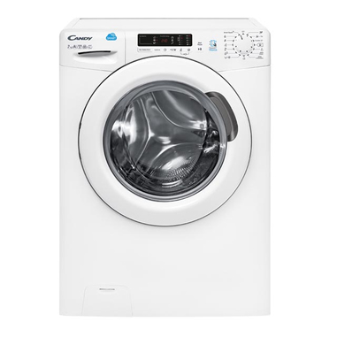 Candy CS4 1272D3/1-S Libera installazione Carica frontale 7kg 1200Giri/min A+++ Bianco lavatrice