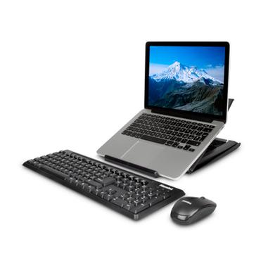 Hamlet Tiramisù piattaforma per Notebook con Tastiera e Mouse Senza Fili