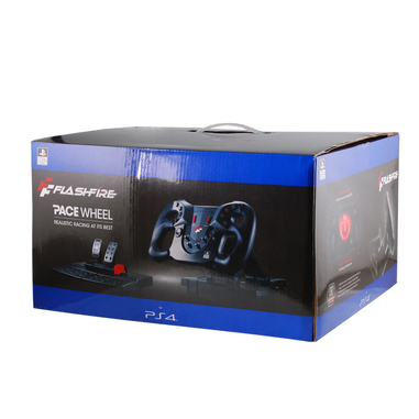 Xtreme PACE Wheel licenza ufficiale Sony Sterzo + Pedali PlayStation 4