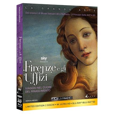 Firenze e gli Uffizi - Collectors Edition (2 Blu-Ray: 2D/3D + 4K)