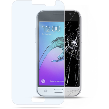 Cellularline Second Glass - Galaxy J1 (2016) Vetro temperato trasparente e resistente